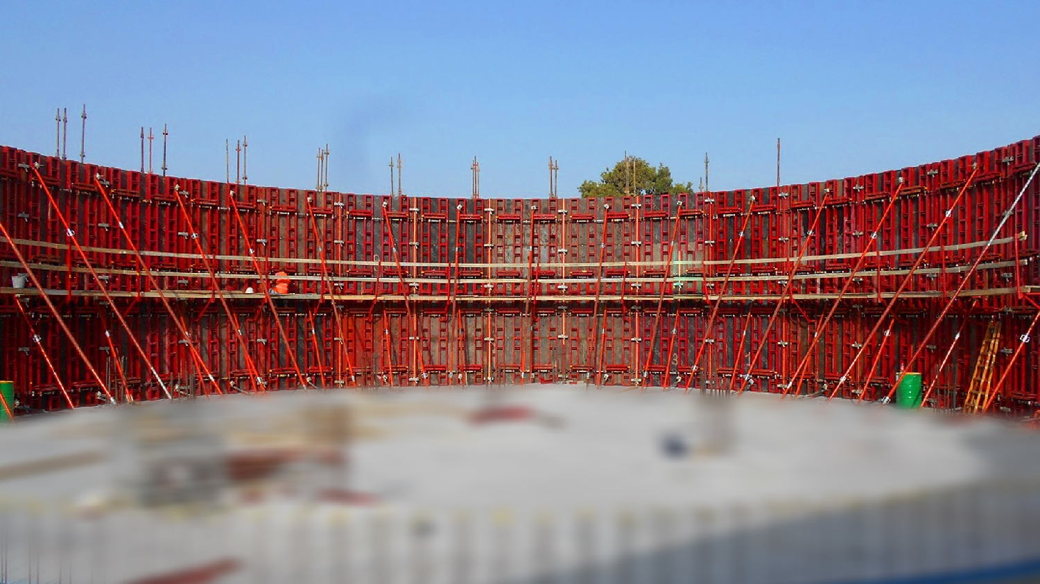 photo Formwork Circular Radius