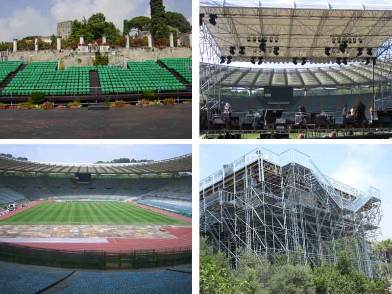 Stages Scaffolding for Events